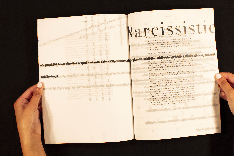 Narcissism Book - lulu alghofaili