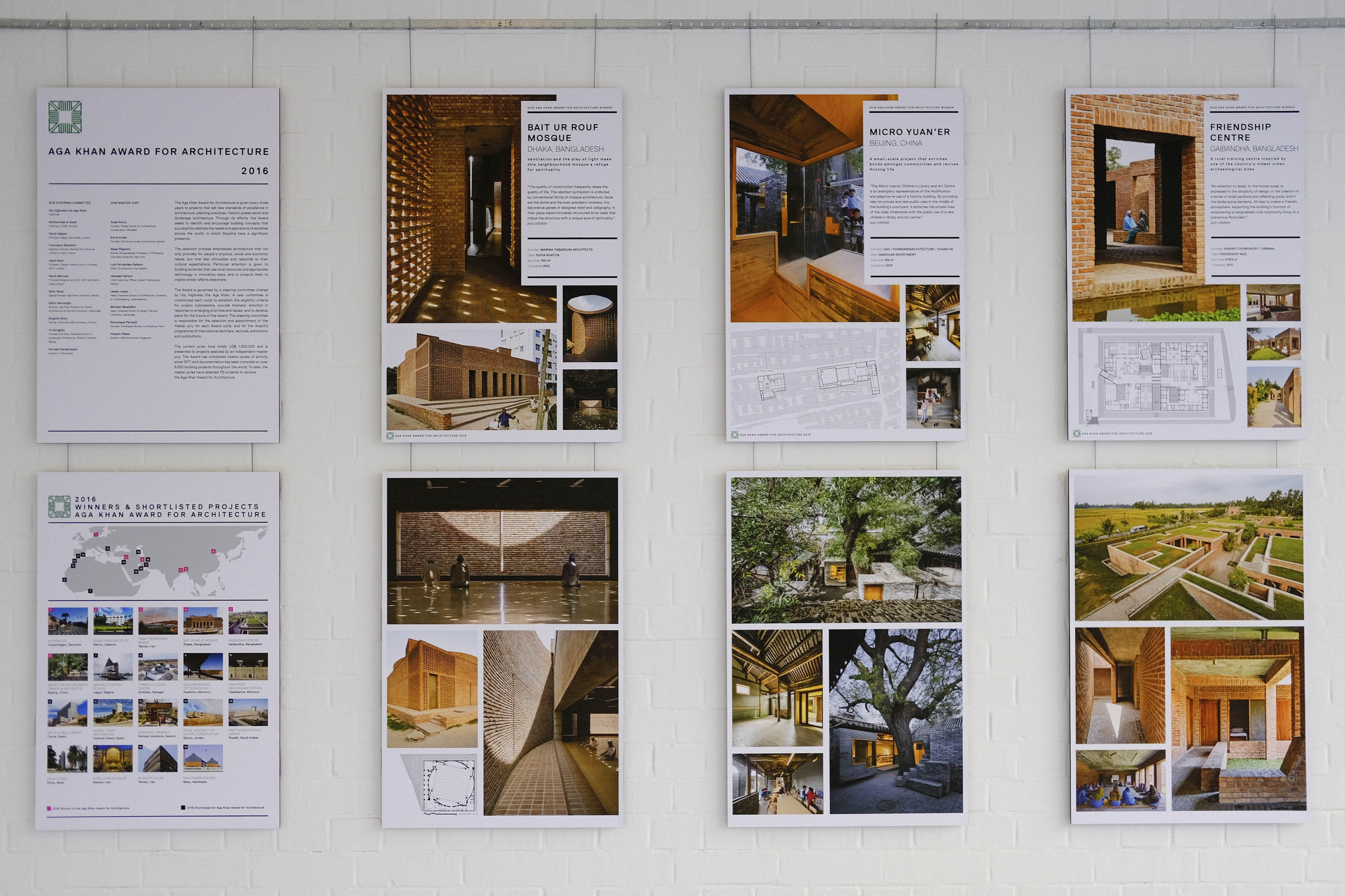 Aga Khan Award Exhibition - Natural Building Lab