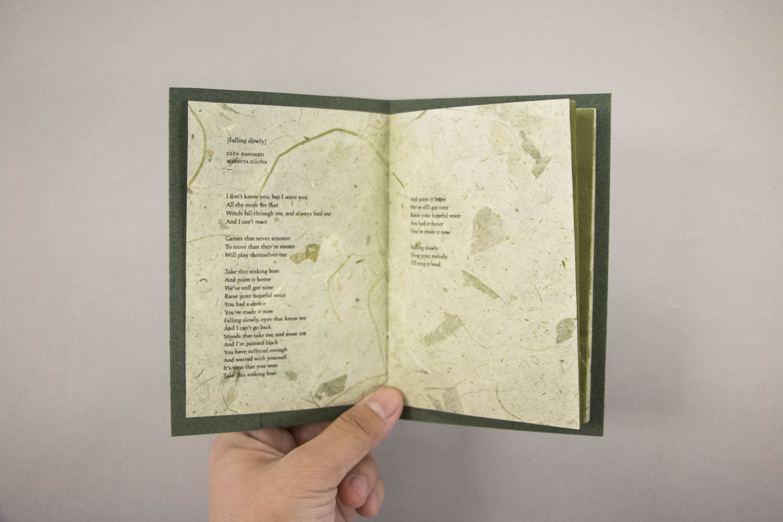 The Song Book - Kendra Xu — Design Portfolio