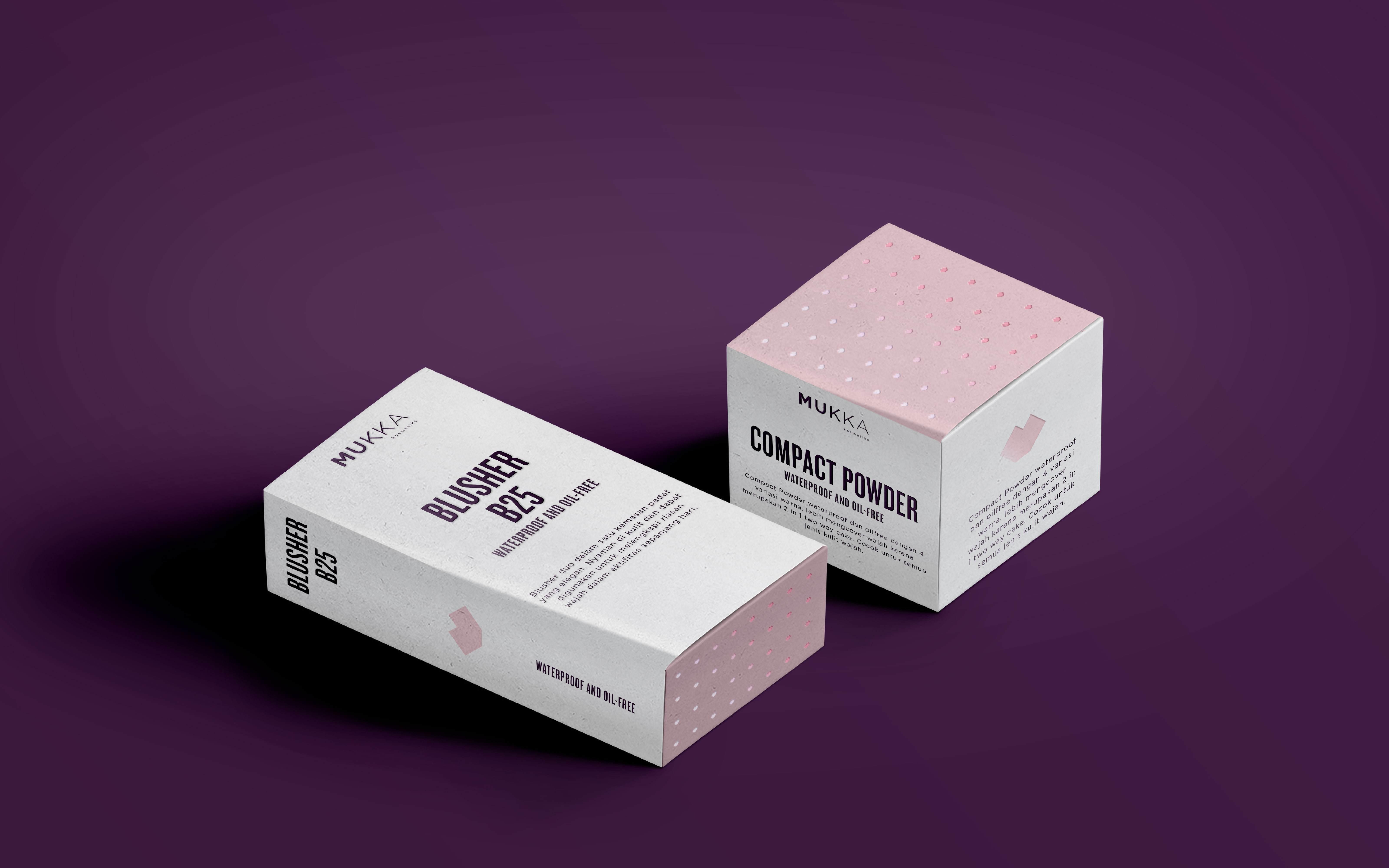 Mukka Blusher B25 Daftar Harga Terkini Terlengkap Eye Shadow 7016 Cosmetics Branding By Unika Studio